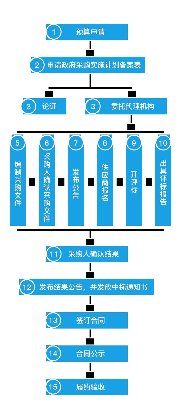 公开招标流程 / OPEN TENDERING PROCESS